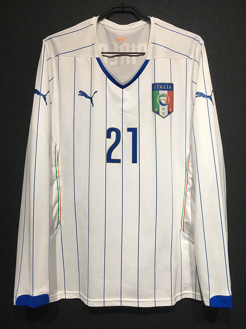 【2014】 / Italy / Away / No.21 PIRLO / Player Issue