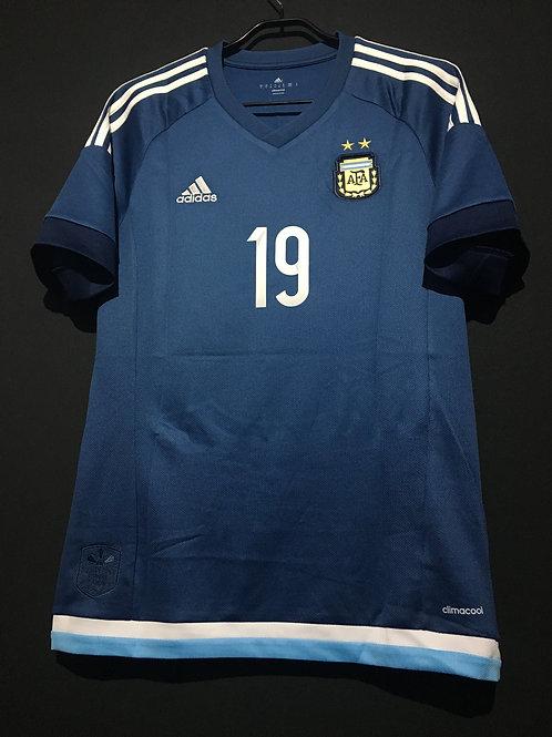 【2015/16】 / Argentina / Away / No.19 DYBALA