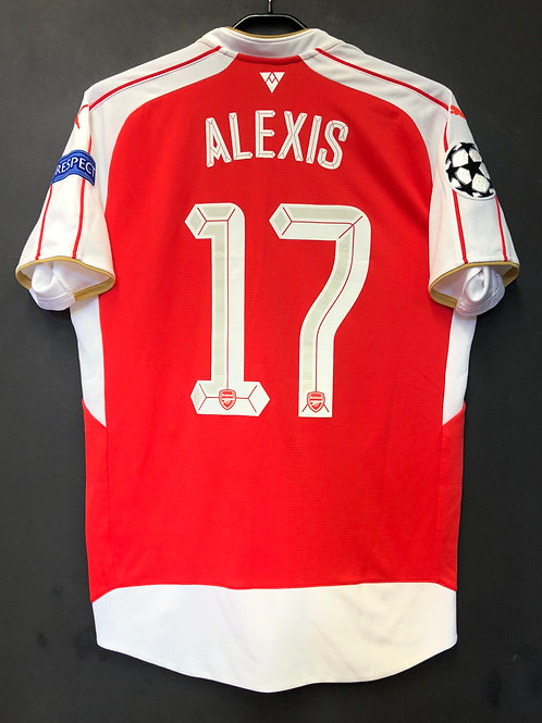 【2015/16】 / Arsenal / Home / No.17 ALEXIS / UCL