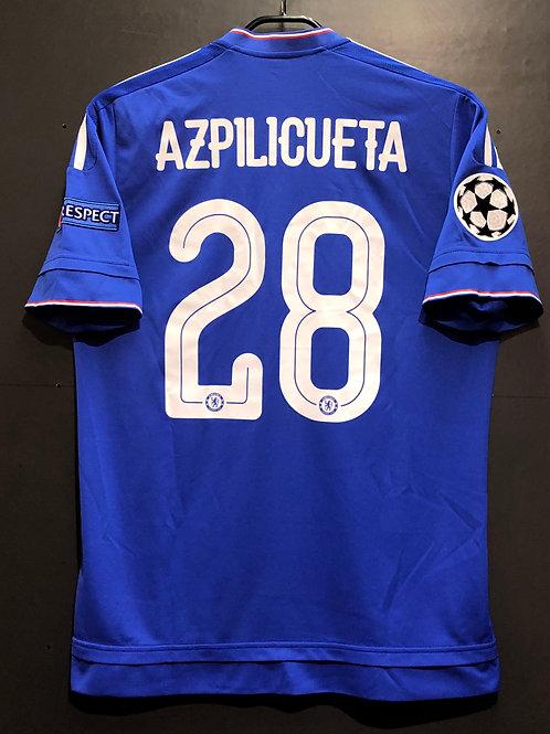 【2015/16】 / Chelsea / Home / No.28 AZPILICUETA / UCL