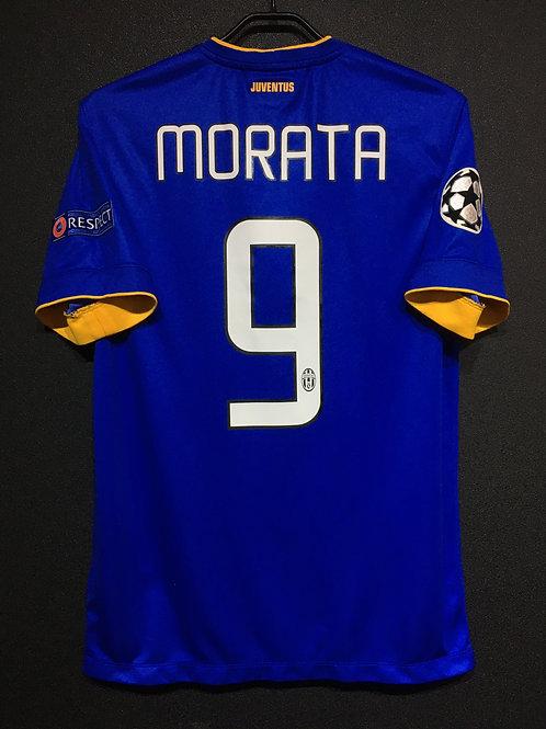 【2014/15】 / Juventus / Away / No.9 MORATA / UCL