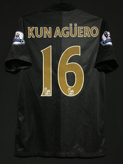 【2013/14】/ Manchester City / Away / No.16 KUN AGUERO
