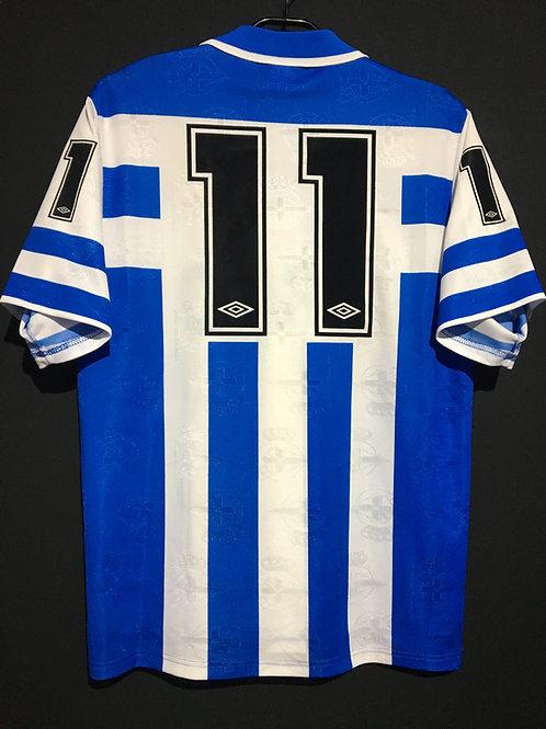 【1992/93】 / Deportivo de La Coruña/ Home / No.11