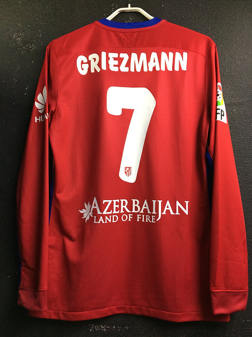 【2015/16】 / Atletico Madrid / Home / No.7 GRIEZMANN / Player Issue