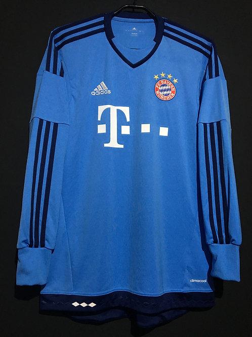 【2015/16】 / FC Bayern Munich / GK(Home)