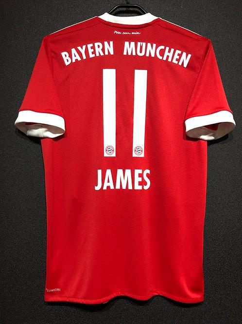 【2017/18】 / FC Bayern Munich / Home / No.11 JAMES