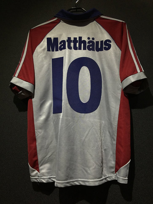 【1997/99】 / FC Bayern Munich / Cup / No.10 MATTHAUS