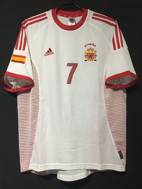 【2002/03】 / Spain / Away / No.7 RAUL