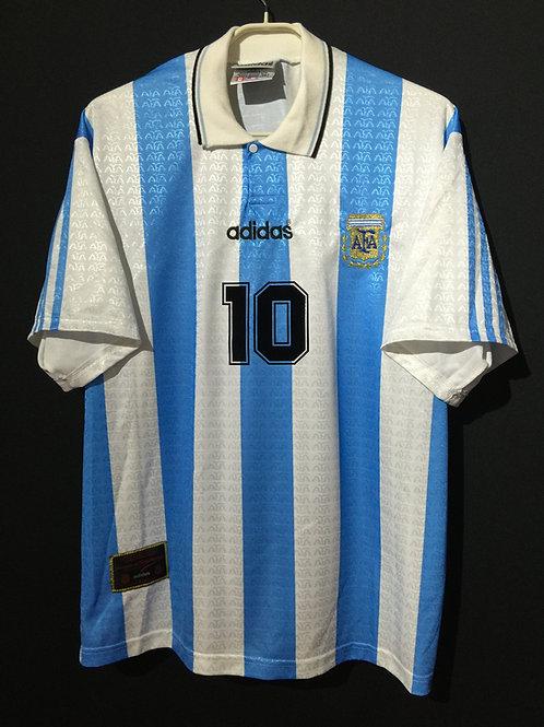 【1994】 / Argentina / Home / No.10 MARADONA