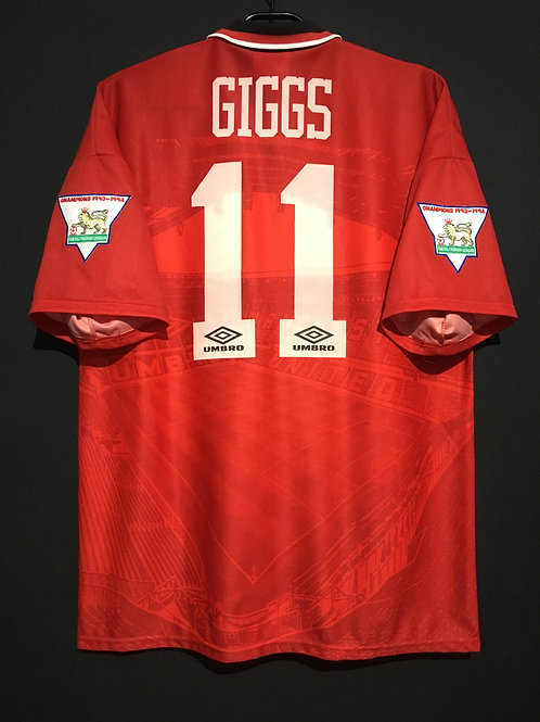 【1994/95】 / Manchester United / Home / No.11 GIGGS