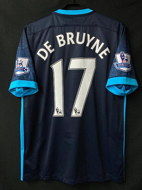 【2015/16】/ Manchester City / Away / No.17 DE BRUYNE