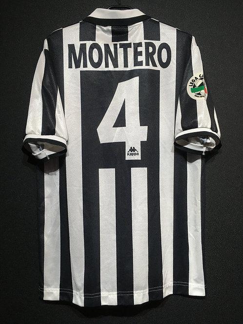 【1996/97】 / Juventus / Home / No.4 MONTERO / Phase2