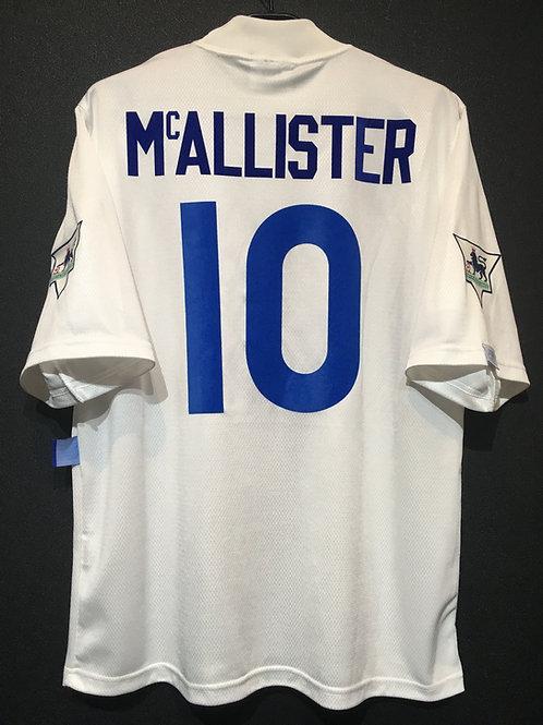 【1995/96】 / Leeds United / Home / No.10 McALLISTER