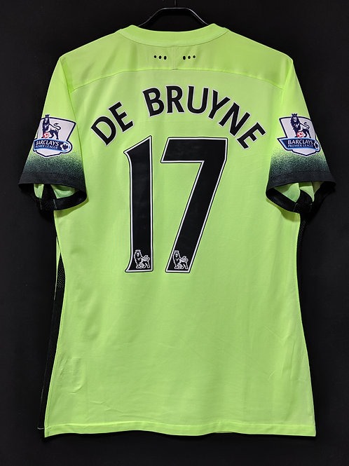 【2015/16】/ Manchester City / 3rd / No.17 DE BRUYNE / Player Issue