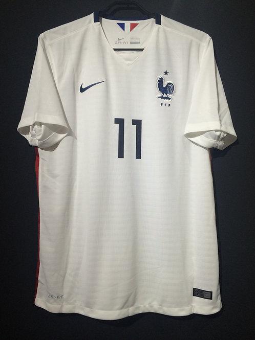 【2015】 / France / Away / No.11 GRIEZMANN