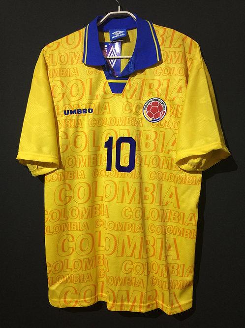 【1995】 / Colombia / Home / No.10 VALDERRAMA