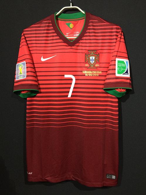 【2014】 / Portugal / Home / No.7 C.RONALDO / FIFA World Cup