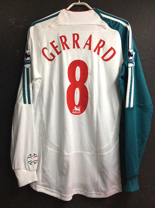 【2006/07】 / Liverpool / 3rd / No.8 GERRARD / Player Issue