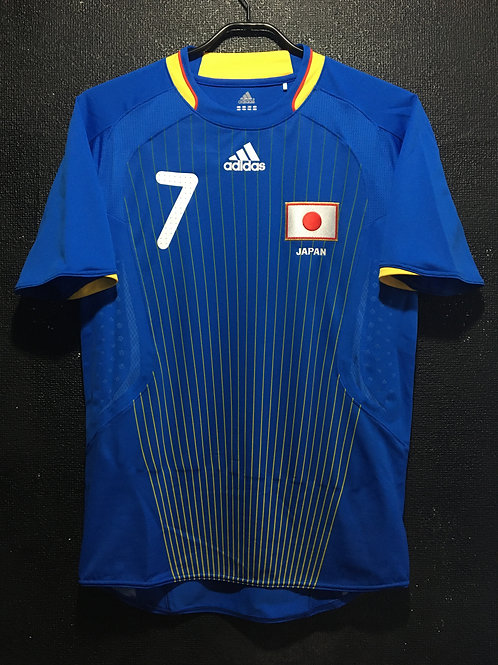 【2008】 / Japan / Home / No.7 / UCHIDA / Olympic Games / Player issue