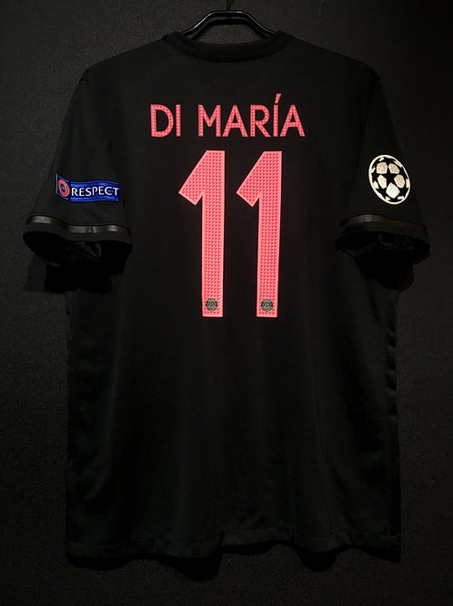 【2015/16】 / Paris Saint-Germain / 3rd / No.11 DI MARIA / UCL