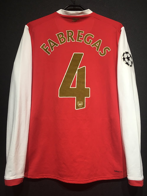 【2007/08】 / Arsenal / Home / No.4 FABREGAS / UCL