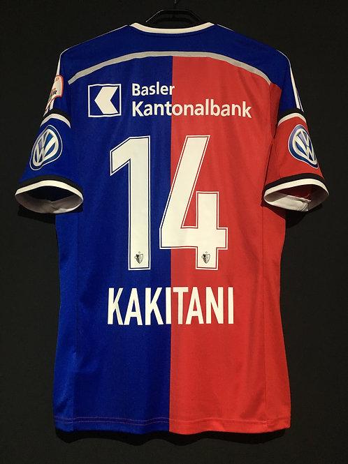 【2014/15】 / FC Basel / Home / No.14 KAKITANI