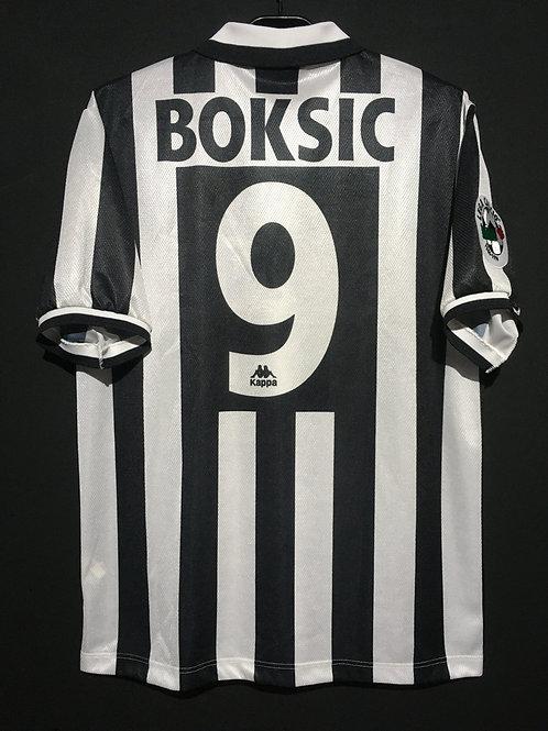【1996/97】 / Juventus / Home / No.9 BOKSIC / Phase1