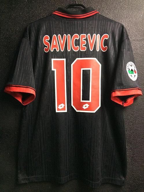 【1997/98】 / A.C. Milan / 3rd / No.10 SAVICEVIC