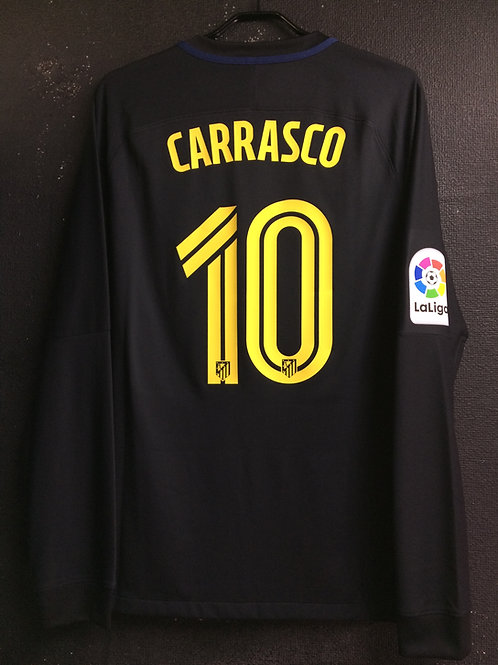 【2016/17】 / Atletico Madrid / Away / No.10 CARRASCO / Player Issue