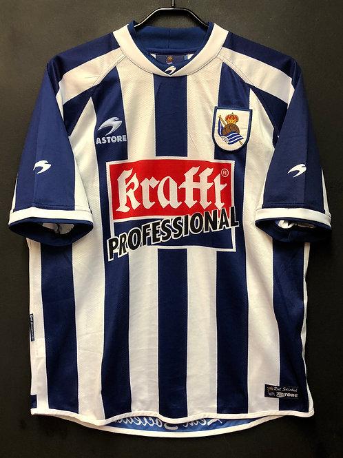 【2002/03】 / Real Sociedad / Home