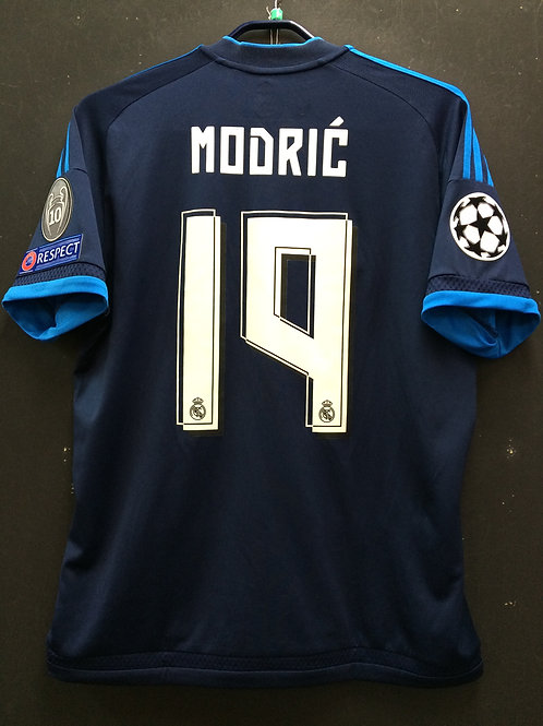 【2015/16】 / Real Madrid C.F. / 3rd / No.19 MODRIC / UCL