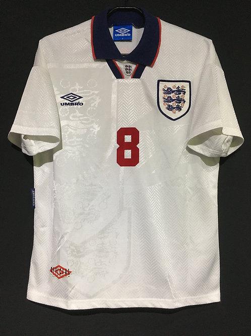 【1994/95】 / England / Home / No.8 GASCOIGNE