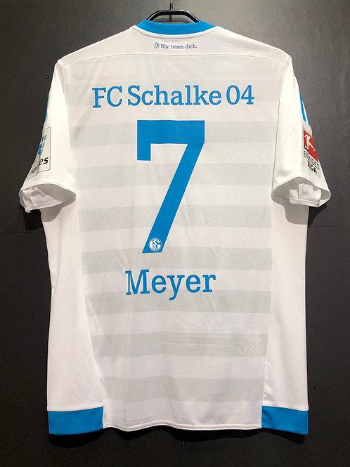 【2015/16】 / Schalke 04 / Away / No.7 MEYER