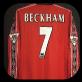 1998 manchester Beckham