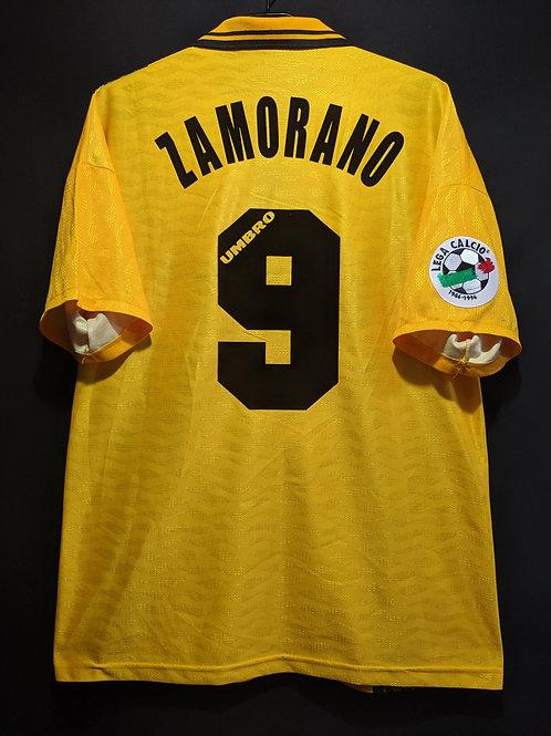 【1996/97】 / Inter Milan / 3rd / No.9 ZAMORANO