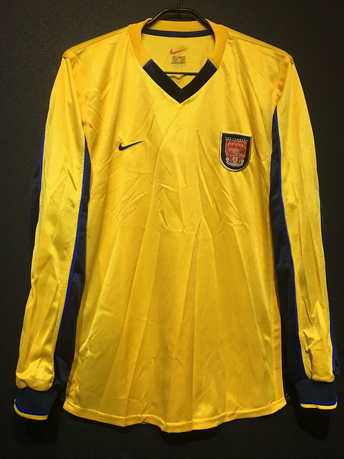 【1999/2001】 / Arsenal / Away / Player Issue
