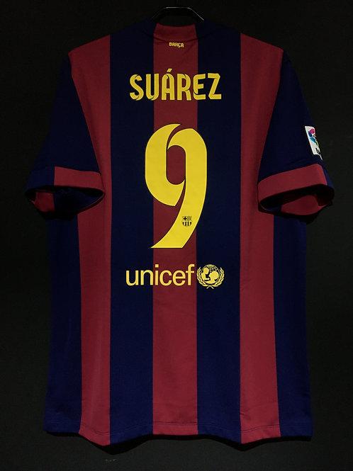 【2014/15】 / FC Barcelona / Home / No.9 SUAREZ