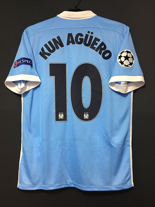 【2015/16】/ Manchester City / Home / No.10 KUN AGUERO / UCL