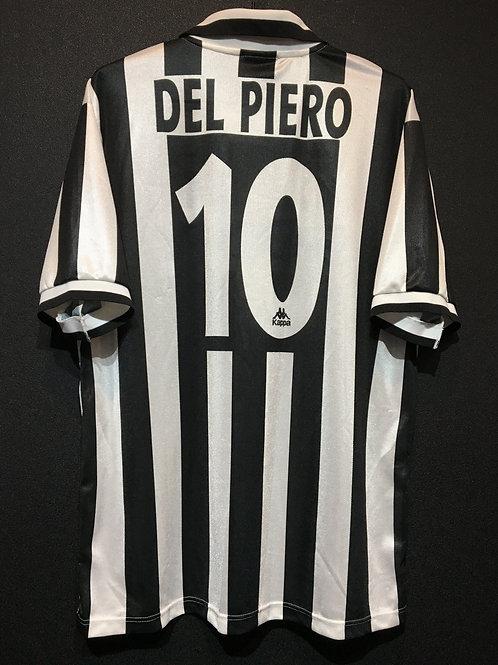 【1995/96】 / Juventus / Home / No.10 DEL PIERO / Reproduction