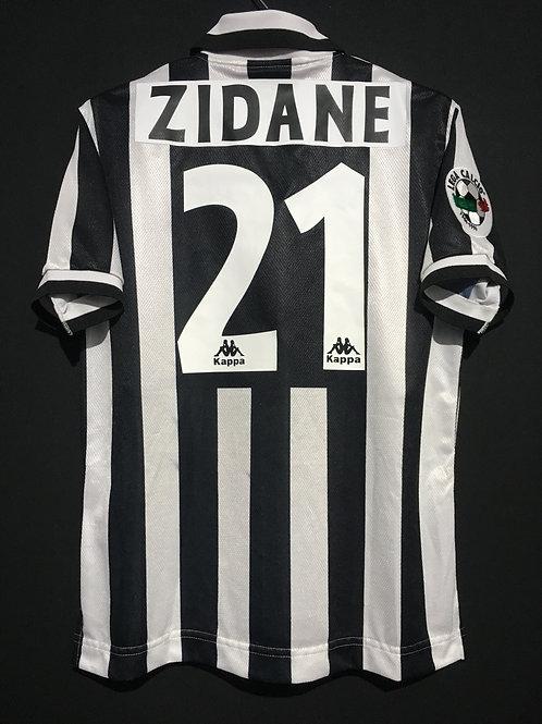 【1996/97】 / Juventus / Home / No.21 ZIDANE / Phase2
