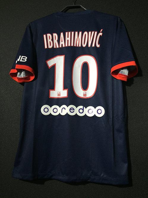 【2013/14】 / Paris Saint-Germain / Home / No.10 IBRAHIMOVIC