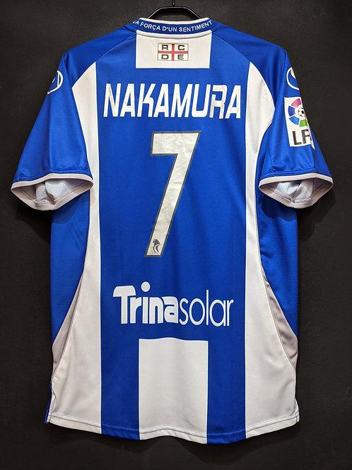 【2009/10】 / RCD Espanyol / Home / No.7 NAKAMURA