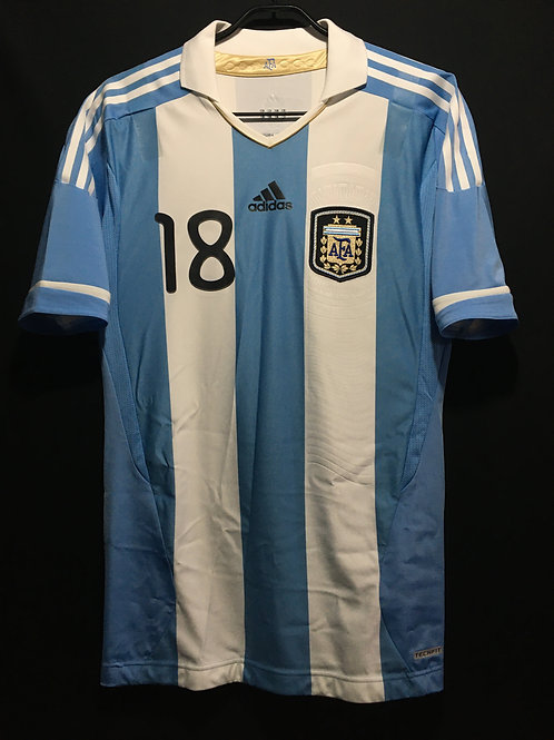 【2011】 / Argentina / Home / No.18 PASTORE / Authentic