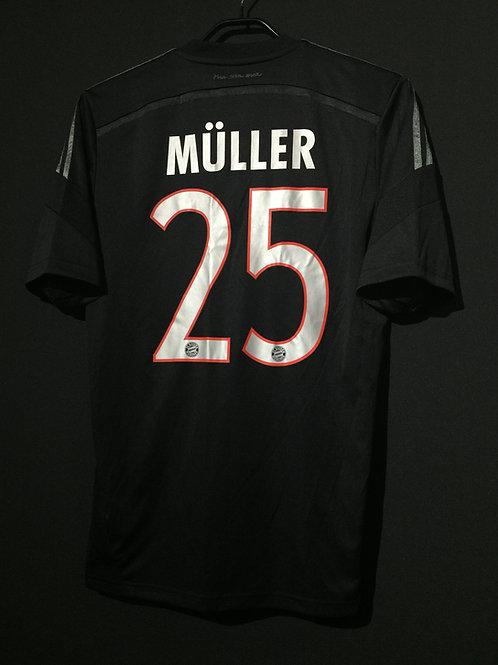 【2014/15】 / FC Bayern Munich / 3rd / No.25 MULLER