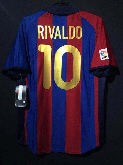 【2001/02】 / FC Barcelona / Home / No.10 RIVALDO