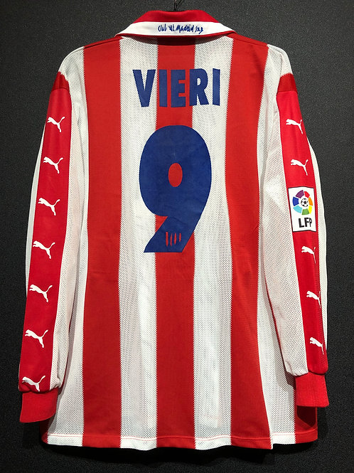 【1997/98】 / Atletico Madrid / Home / No.9 VIERI