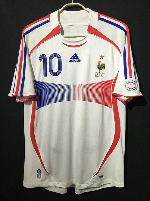 【2006/07】 / France / Away / No.10 ZIDANE