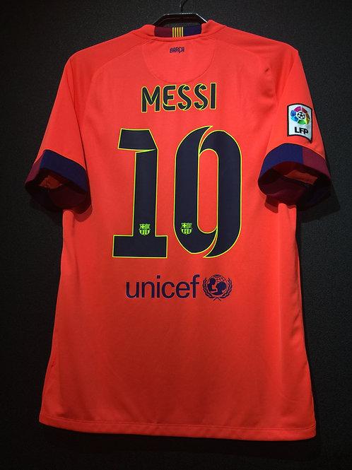 【2014/15】 / FC Barcelona / Away / No.10 MESSI