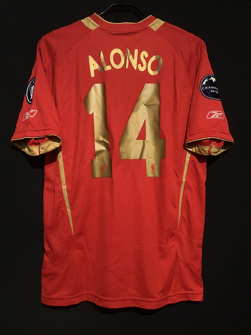 【2005/06】 / Liverpool / Cup(Home)/ No.14 ALONSO / UCL