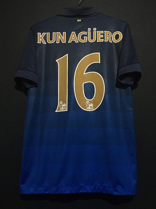 【2014/15】/ Manchester City / Away / No.16 KUN AGUERO
